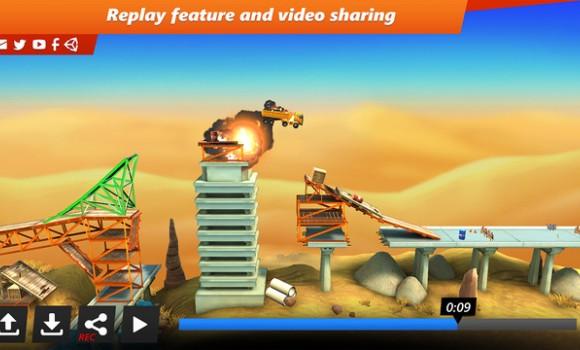 Bridge Constructor Stunts Ekran Görüntüleri - 2