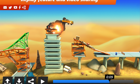 Bridge Constructor Stunts Ekran Görüntüleri - 1