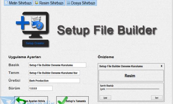 Bsoft Setup File Builder Ekran Görüntüleri - 1