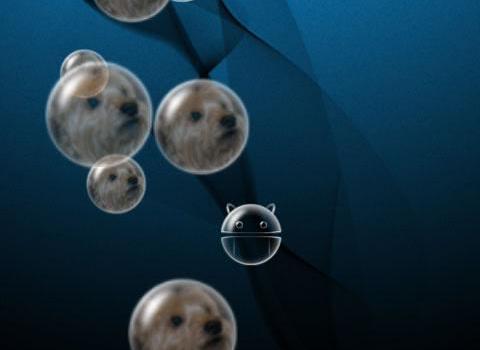 Bubble Live Wallpaper Ekran Görüntüleri - 7