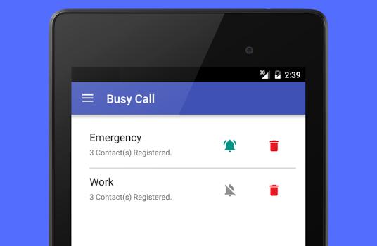 Busy Call Ekran Görüntüleri - 4