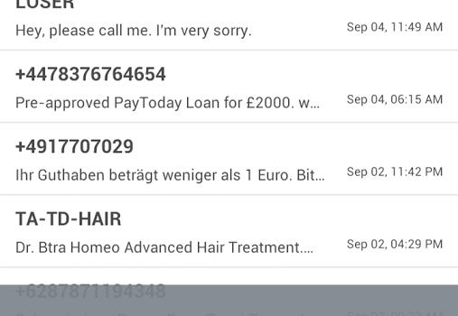 Call SMS Blocker Ekran Görüntüleri - 1