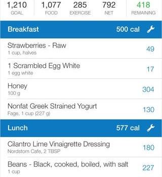 Calorie Counter Ekran Görüntüleri - 4