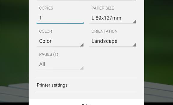 Canon Print Service Ekran Görüntüleri - 1