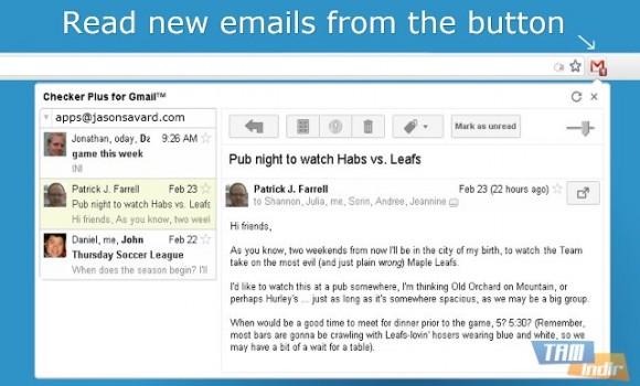 Checker Plus for Gmail Ekran Görüntüleri - 1
