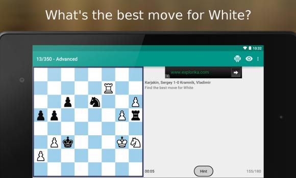 Chess Puzzles Ekran Görüntüleri - 5