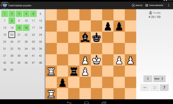 Chess Tactics Pro Ekran Görüntüleri - 5