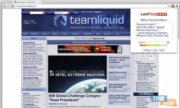 Chrome LastPass Ekran Görüntüleri - 1