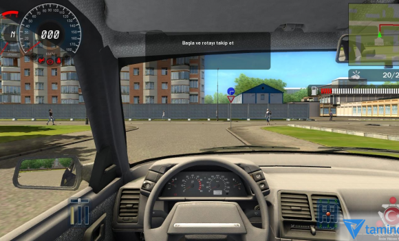 D Instructor 227, (City Car Driving), keygen, сборка