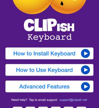 CLIPish Keyboard Ekran Görüntüleri - 1