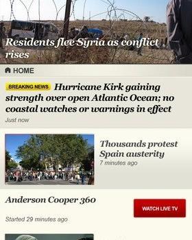 CNN App for iPhone Ekran Görüntüleri - 4