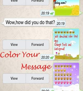 Color Text Messages Ekran Görüntüleri - 5