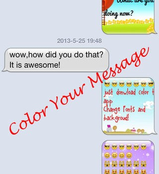 Color Text Messages Ekran Görüntüleri - 4