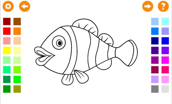 Coloring Book for Kids Ekran Görüntüleri - 1