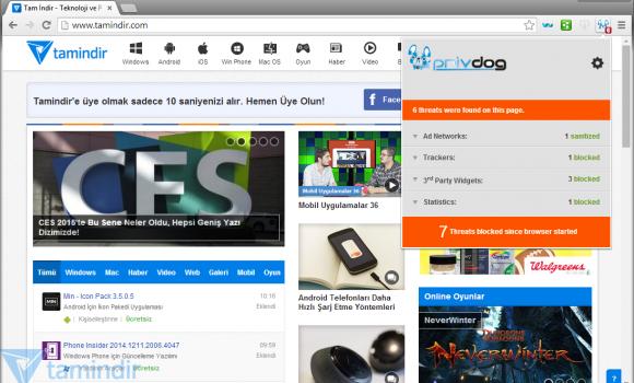 Comodo Dragon Internet Browser Ekran Görüntüleri - 2