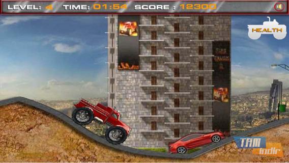 Crazy Fire Truck Ekran Görüntüleri - 5