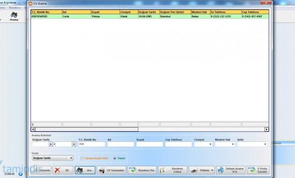 CV Kayıt & Arşivleme Ekran Görüntüleri - 2
