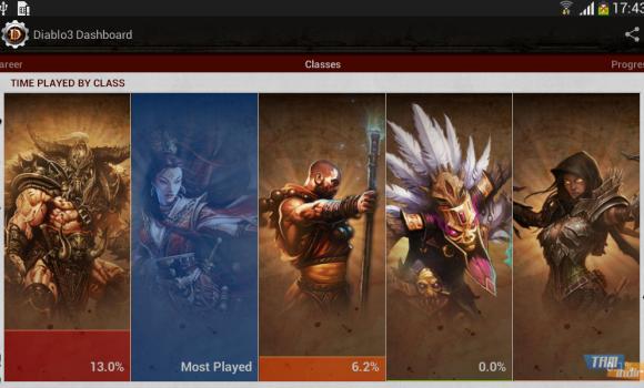 Diablo3 - Mobile Dashboard Ekran Görüntüleri - 4