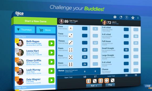 Dice With Buddies Free Ekran Görüntüleri - 4