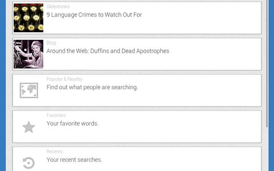 Dictionary.com Dictionary & Thesaurus Ekran Görüntüleri - 2