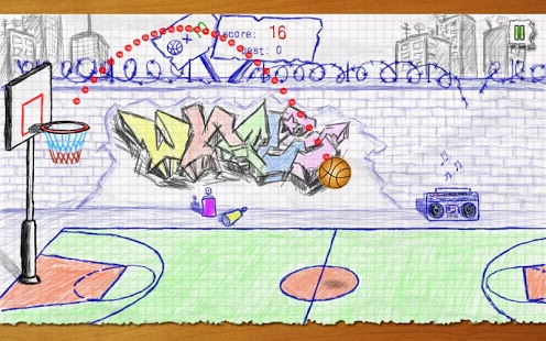 Doodle Basketball Ekran Görüntüleri - 1