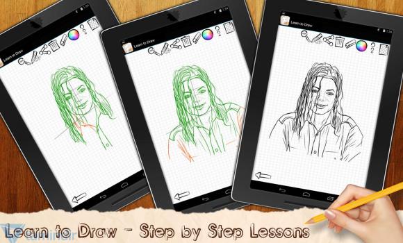 Drawing Lessons Celebrities Ekran Görüntüleri - 3