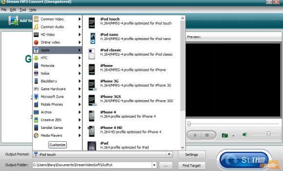 Dream MP3 Convert Ekran Görüntüleri - 1