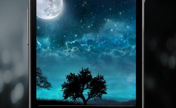 Dream Night Free LiveWallpaper Ekran Görüntüleri - 2