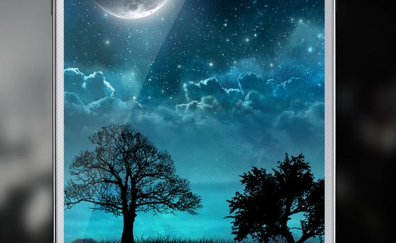 Dream Night Free LiveWallpaper Ekran Görüntüleri - 1