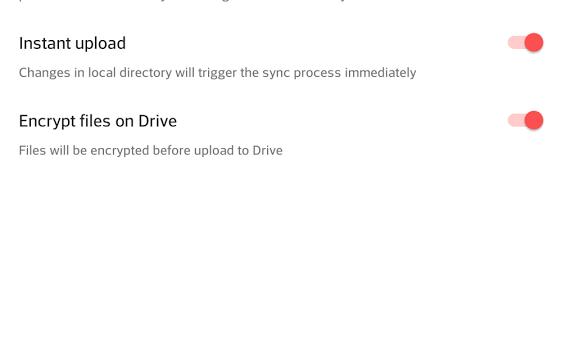 Drive Syncrypt Ekran Görüntüleri - 2