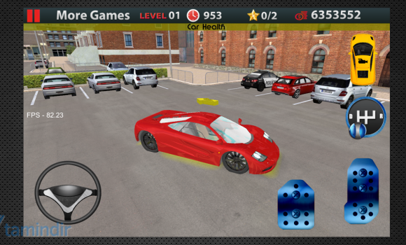 Driving School 3D Parking Ekran Görüntüleri - 3