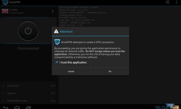 DroidVPN Ekran Görüntüleri - 4