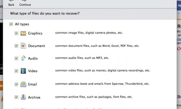 EaseUS Data Recovery Wizard for Mac Ekran Görüntüleri - 1