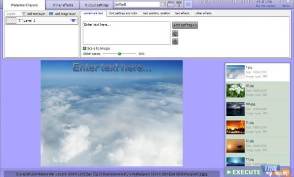 Easy Watermark Studio Lite Ekran Görüntüleri - 3