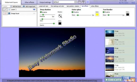 Easy Watermark Studio Lite Ekran Görüntüleri - 1