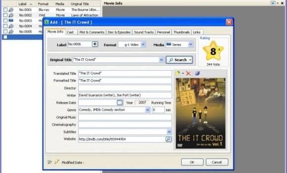 Eax Movie Catalog Ekran Görüntüleri - 1