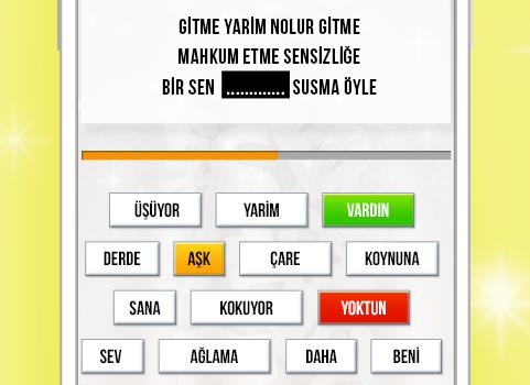 Ebru Gündeş -Şarkıları Bulmaca Ekran Görüntüleri - 2