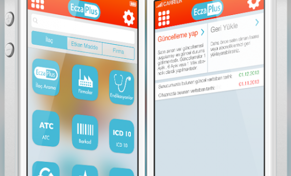 EczaPlus İlaç Bilgi Sistemi Ekran Görüntüleri - 1
