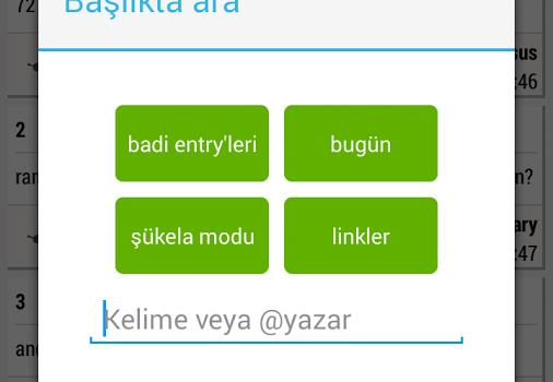 Ekşi Sözlük Beta Ekran Görüntüleri - 2