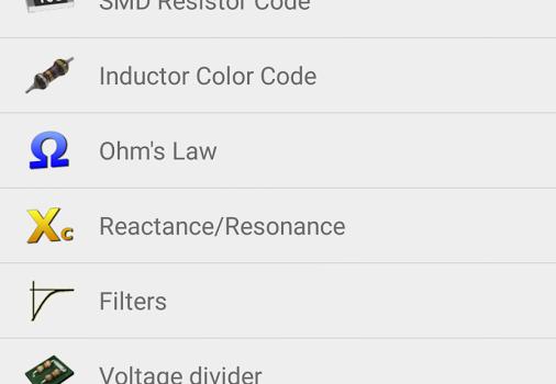 ElectroDroid Ekran Görüntüleri - 4