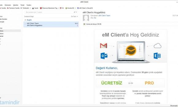 eM Client Ekran Görüntüleri - 2