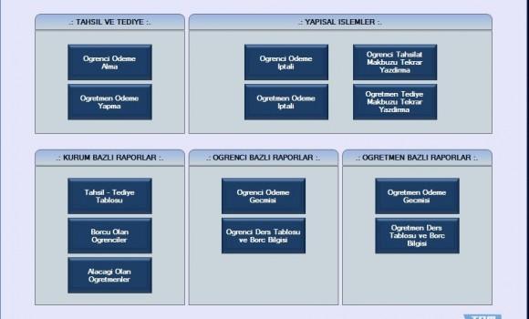 Etüt ve Özel Ders Takip Programı Ekran Görüntüleri - 2