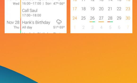 Event Flow Calendar Widget Ekran Görüntüleri - 4