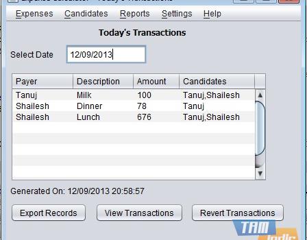 Expense Calculator Ekran Görüntüleri - 3