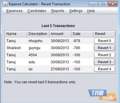 Expense Calculator Ekran Görüntüleri - 2