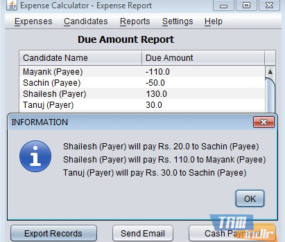 Expense Calculator Ekran Görüntüleri - 1