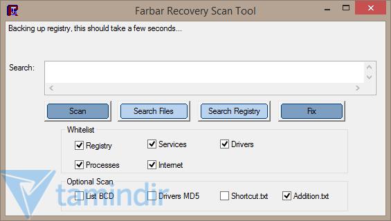 Farbar Recovery Scan Tool Ekran Görüntüleri - 1