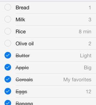 Fast Shopping List Ekran Görüntüleri - 5