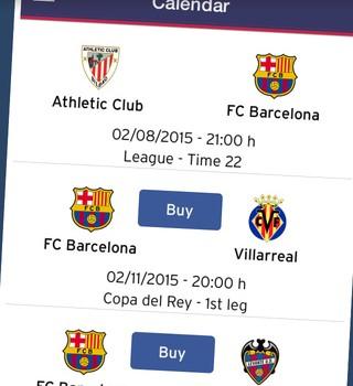 FC Barcelona Official App Ekran Görüntüleri - 2