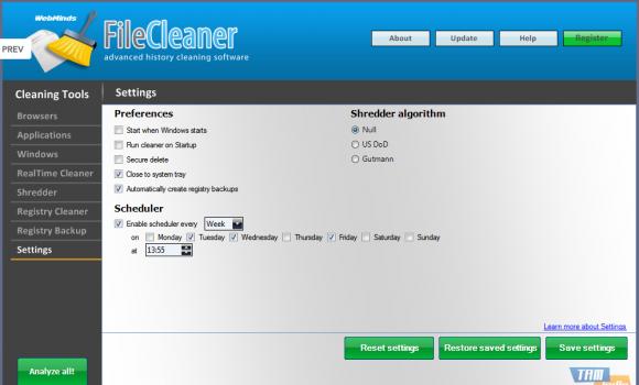 File Cleaner Ekran Görüntüleri - 1